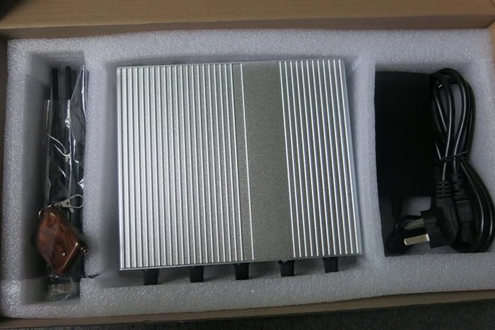China signal jammer blocker | 2012 Hot New High Power Desktop Cell Phone Jammer (CDMA/3G/GSM ) Blocker With 2 Cooler Fans