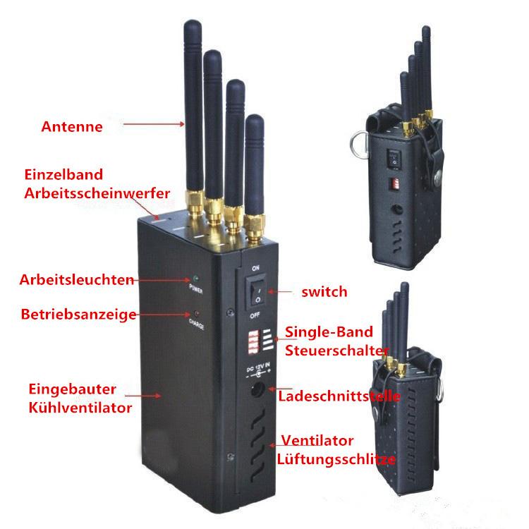 4G Handy-Störsender
