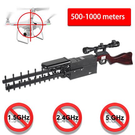 Pistole Typ Tragbare Gps Drohne 2 4gmhz 5 8gmhz Drohne Storsender
