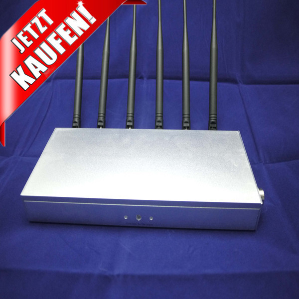 Bluetooth blocker | Custom Desktop 4G / WIFI Wireless Mobile Jammer Device 30dBm 14 bands