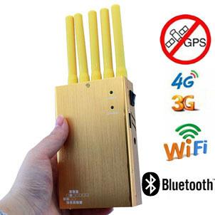broxojet , Brouilleur de signal de téléphone portable de PCS 3G de l'interception cellulaire CDMA GSM