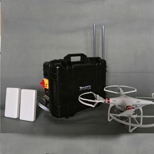 bloquer le pub , Brouilleur drone de Fréquence La performance du produit complet est interdite comme le militaire