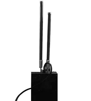 Brouilleur de forme de sac à dos portable de drone