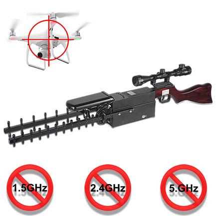 pub android | Type de pistolet portable brouilleur bloqueur de drone