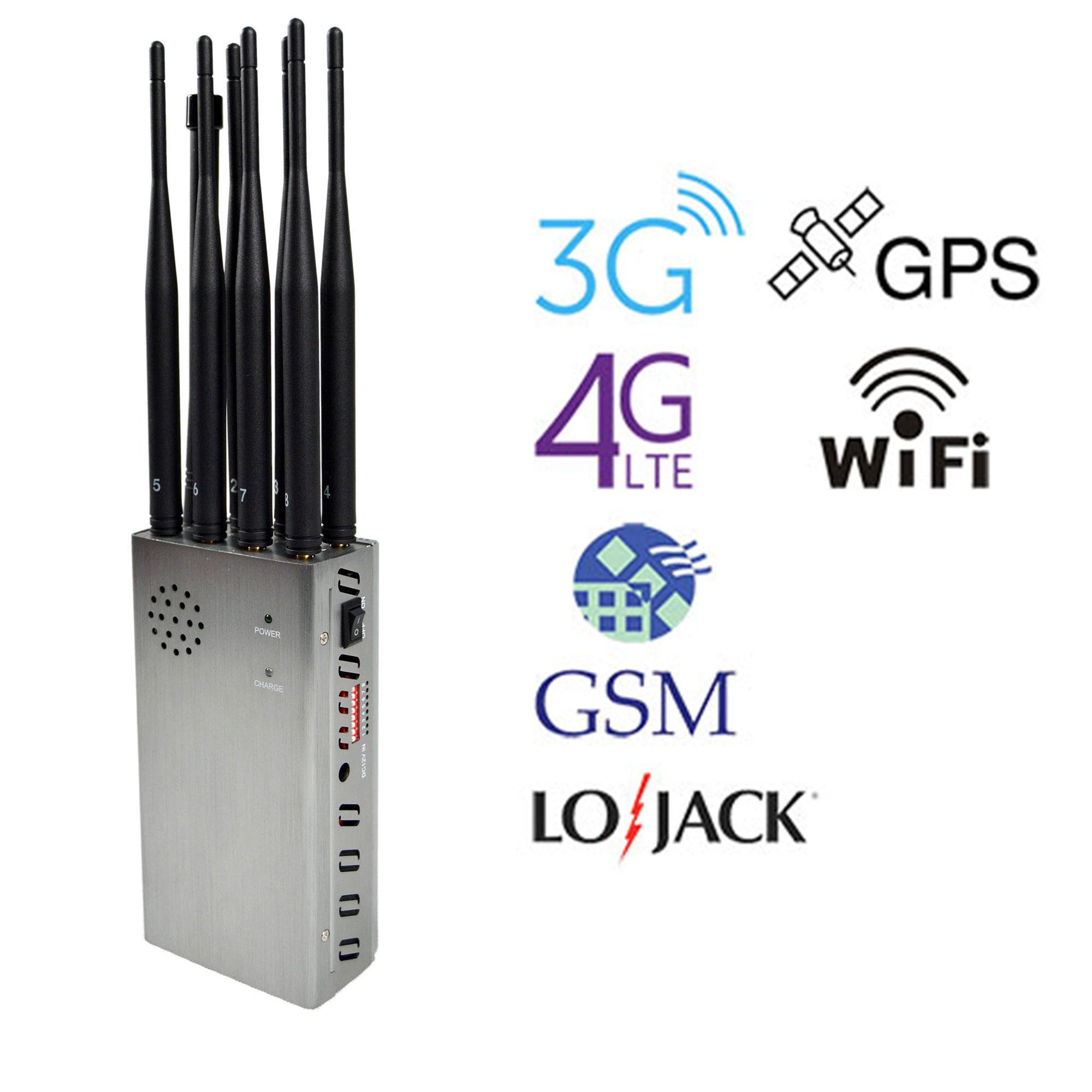 Type des signaux émis par les satellites GPS portatifs brouilleurs 8341M