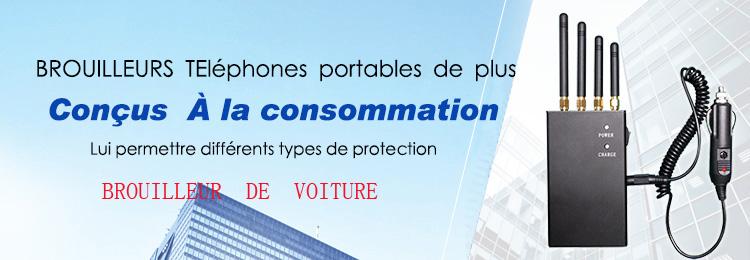 Brouilleur de telephone GSM