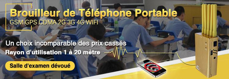 Brouilleur de signal de téléphone portable
