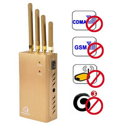 signal jammer 15w - Portable High Power GPS Jammers Phone text blocker for sale