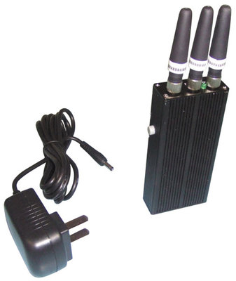 Cell phone jammer Lancaster - Wholesale High Power Mini Portable Cell Phone Signal Jammer Multi functional