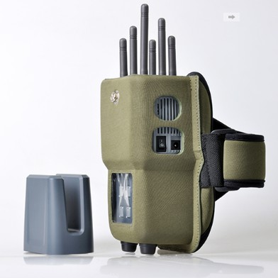jammer phone blocker turn - Portable All In One Signal jammer 6 Antenna Selection high power