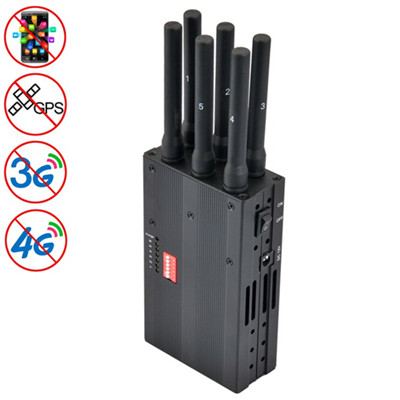 wireless phone jammer build - High Power signal jammer 6 Band portable good quality