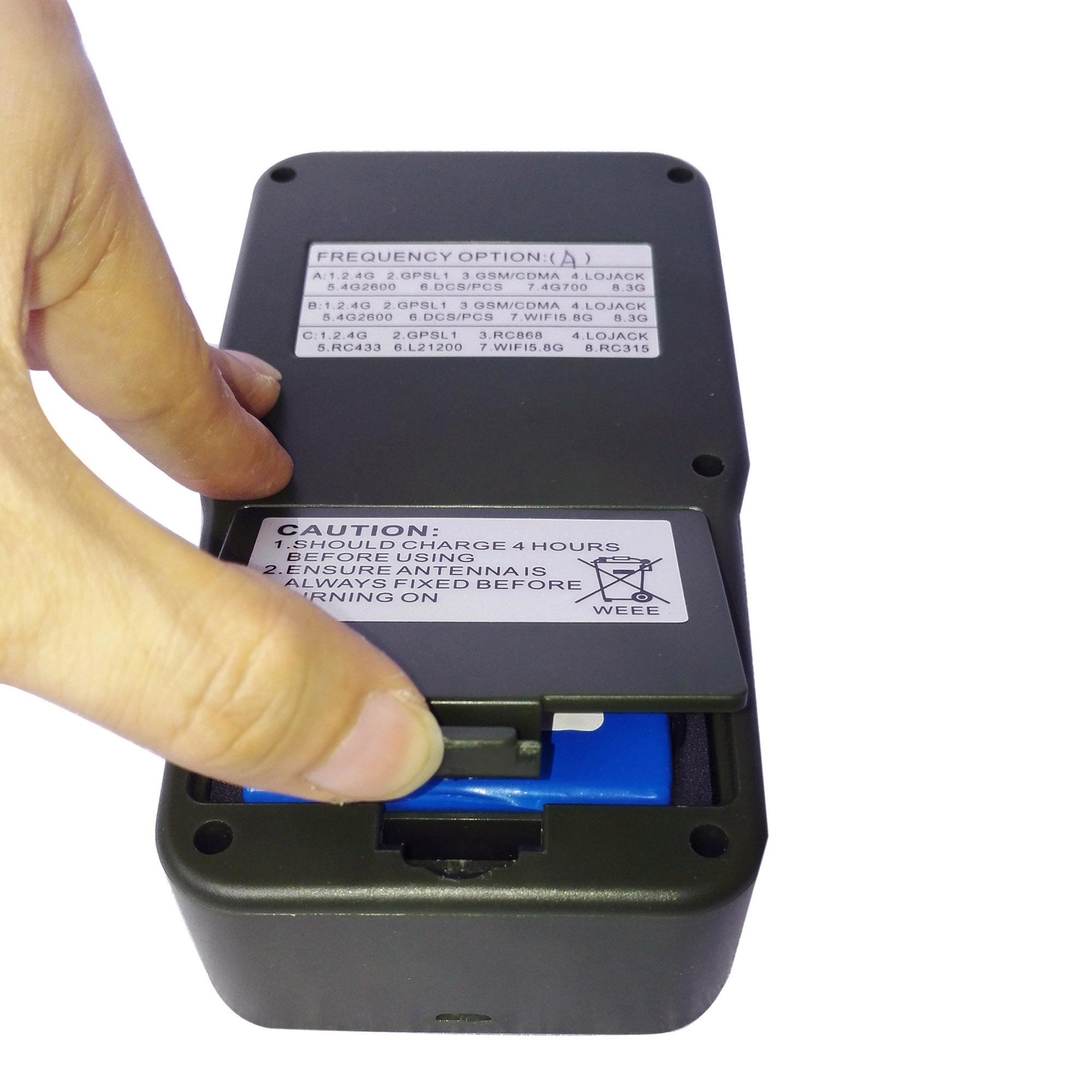 Jammer violations - 6 Antenna Handheld Phone Jammer & WiFi Jammer & GPS Jammer