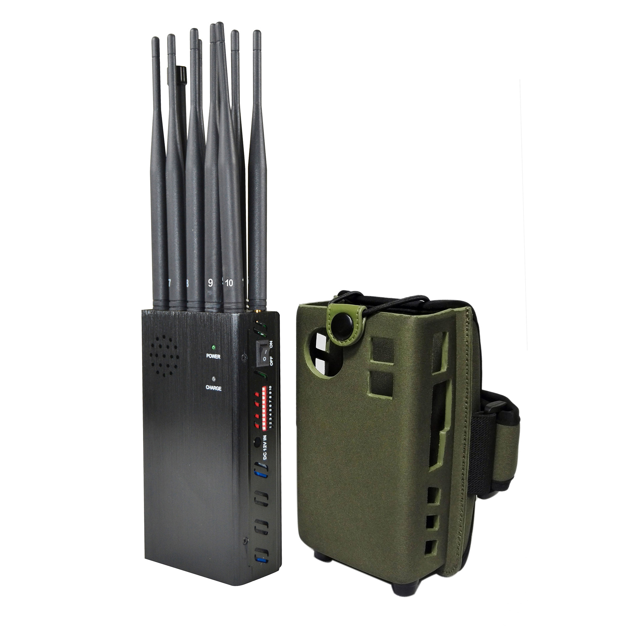 10 Antenna Mobile Phone Signal Jammer